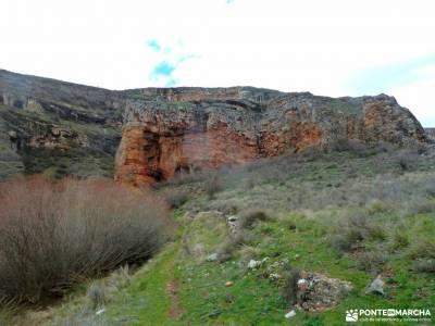 Cañón Caracena; Encina  Valderromán; parque natural de las islas atlanticas actividades madrid do